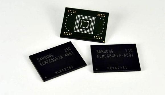 هاتف سامسونج الجديد سيحوي على ذواكر تخزينية عالية السرعة وقليلة استهلاك للطاقة