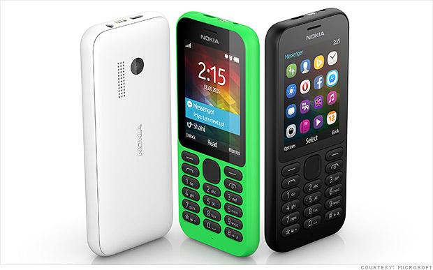 هاتف مايكروسوفت نوكيا 215